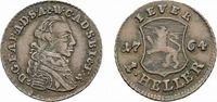 Cu Heller 1764 Zerbst Jever, Herrschaft Friedrich August von Anhalt-Zer... 27,00 EUR  zzgl. 3,00 EUR Versand