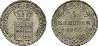 Kreuzer 1863 Württemberg Wilhelm I. 1816-1864 Vorzüglich - Stempelglanz  18,00 EUR  zzgl. 3,00 EUR Versand