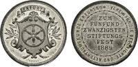 Zinnmedaille 1889 von Apell Erfurt, Stadt  Äußerst selten. Vorzüglich  68,00 EUR  zzgl. 5,00 EUR Versand