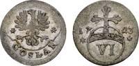 Goslar, Stadt 6 Pfennig 1722 Sehr schön  22,00 EUR  zzgl. 3,00 EUR Versand