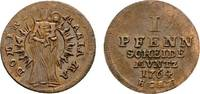 Goslar, Stadt Cu Pfennig 1764 HCRF Sehr schön  18,00 EUR  zzgl. 3,00 EUR Versand