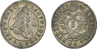 Kreuzer 1700 FN Oppeln Haus Habsburg Leopold I. 1657-1705 Sehr schön  27,00 EUR  zzgl. 3,00 EUR Versand