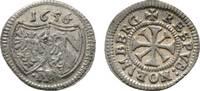Kreuzer 1656 Nürnberg, Stadt  Selten. Sehr schön / vorzüglich  49,00 EUR  zzgl. 3,00 EUR Versand
