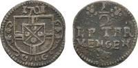 1/2 Petermännchen 1701 Koblenz Trier, Erzbistum Johann Hugo von Orsbeck... 13,00 EUR  zzgl. 3,00 EUR Versand
