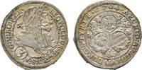 Haus Habsburg 3 Kreuzer 1704 IA Graz Winz. Prägeschwäche, fast vorzüglic... 23,00 EUR  zzgl. 3,00 EUR Versand