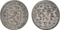 Kreuzer 1723 BIB Hessen-Darmstadt Ernst Ludwig 1678-1739 Sehr schön  18,00 EUR  zzgl. 3,00 EUR Versand