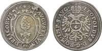 4 Kreuzer 1694 Augsburg, Stadt  Winz. Stempelfehler, sehr schön  36,00 EUR  zzgl. 3,00 EUR Versand