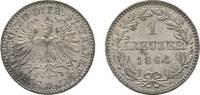 Kreuzer 1864 Frankfurt, Stadt  Sehr schön - vorzüglich  9,00 EUR  zzgl. 3,00 EUR Versand