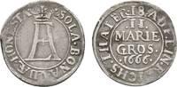 2 Mariengroschen 1666 Melle Osnabrück, Bistum Ernst August I. 1662-1698... 32,00 EUR  zzgl. 3,00 EUR Versand