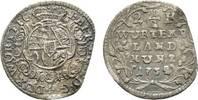 2 1/2 Kreuzer 1732 Stuttgart Württemberg Eberhard Ludwig 1693-1733 Sehr... 49,00 EUR  zzgl. 3,00 EUR Versand