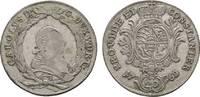 20 Kreuzer 1768 Stuttgart Württemberg Karl Eugen 1744-1793 Fast sehr sc... 39,00 EUR  zzgl. 3,00 EUR Versand