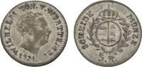 3 Kreuzer 1824 Württemberg Wilhelm I. 1816-1864 Fast sehr schön / sehr ... 39,00 EUR  zzgl. 3,00 EUR Versand