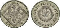 5 Kreuzer 1778 Frankfurt, Stadt  Selten. Kl. Schrötlingsfehler, sehr sc... 49,00 EUR  zzgl. 3,00 EUR Versand