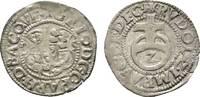 2 Kreuzer 1585 Weinburg Pfalz-Veldenz Georg Johann 1544-1592 Winz. Präg... 27,00 EUR  zzgl. 3,00 EUR Versand