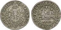 6 Mariengroschen 1689 Hildesheim, Stadt  Sehr schön  54,00 EUR  zzgl. 5,00 EUR Versand