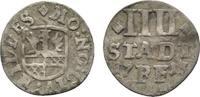 4 Stadtpfennig 1713 Hildesheim, Stadt  Leicht gewellt, sehr schön  13,00 EUR  zzgl. 3,00 EUR Versand