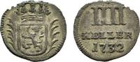 4 Heller 1732 Hessen-Kassel Friedrich I. 1730-1751 Selten. Schrötlingsf... 32,00 EUR  zzgl. 3,00 EUR Versand