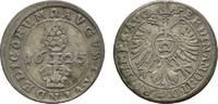 1/2 Batzen 1625 Augsburg, Stadt  Sehr schön  23,00 EUR  zzgl. 3,00 EUR Versand
