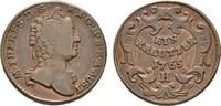 Cu Kreuzer 1765 H Hall Haus Habsburg Maria Theresia 1740-1780 Sehr schön  36,00 EUR  zzgl. 3,00 EUR Versand