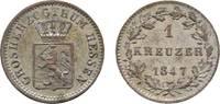Kreuzer 1847 Hessen-Darmstadt Ludwig II. 1830-1848 Sehr schön - vorzügl... 13,00 EUR  zzgl. 3,00 EUR Versand