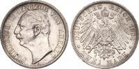 2 Mark 1904  A Anhalt Friedrich II. 1904-1918. Schöne Patina. Winziger ... 560,00 EUR free shipping