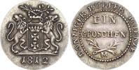 Silberabschlag von den Stempeln des Groschens 1812 Polen-Danzig  Schöne... 1850,00 EUR free shipping