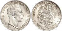 2 Mark 1888  A Preußen Wilhelm II. 1888-1918. Winzige Kratzer , vorzügl... 500,00 EUR kostenloser Versand