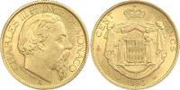 100 Francs Gold 1886  A Monaco Charles III 1856-1889. Vorzüglich  1600,00 EUR kostenloser Versand