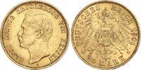 20 Mark Gold 1901  A Hessen Ernst Ludwig 1892-1918. Winziger Randfehler... 510,00 EUR