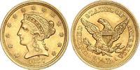 2 1/2 Dollars Gold 1857 Vereinigte Staaten von Amerika  Winzige Druckst... 500,00 EUR
