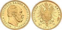 20 Mark Gold 1871  A Preußen Wilhelm I. 1861-1888. Winzige Kratzer, vor... 770,00 EUR