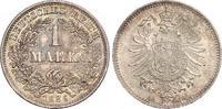 1 Mark 1886  D Kleinmünzen  Schöne Patina. Fast Stempelglanz / Stempelg... 140,00 EUR  zzgl. 4,00 EUR Versand