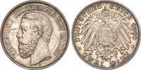 2 Mark 1900  G Baden Friedrich I. 1856-1907. Prachtexemplar. Schöne Pat... 660,00 EUR