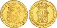 2 Escudos Gold 1766 Kolumbien Carlos III 1759-1788. Selten. Winzige Ran... 1750,00 EUR