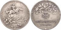 Silbermedaille  Erster Weltkrieg Allgemein...
