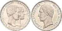5 Francs 1853 Belgien- Leopold I. 1830-1865. Winziger Randfehler, vorzü... 160,00 EUR  zzgl. 4,00 EUR Versand