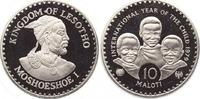 10 Maloti 1979 Lesotho, Königreich Moshoeshoe II. 1966-1990. Polierte P... 450,00 EUR kostenloser Versand