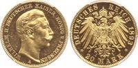 20 Mark Gold 1893  A Preußen Wilhelm II. 1888-1918. Polierte Platte. Wi... 925,00 EUR kostenloser Versand