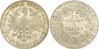 Doppeltaler 1854 Frankfurt-Stadt  Feine Patina. Winzige Kratzer, vorzüg... 370,00 EUR kostenloser Versand