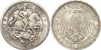 3 Mark 1915 Preußen Wilhelm II. 1888-1918. Schöne Patina. Winziger Rand... 770,00 EUR free shipping