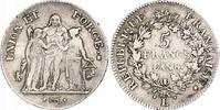 5 Francs AN 8 L Frankreich Erste Republik. Kleine Randfehler und Kratze... 200,00 EUR kostenloser Versand