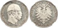 5 Mark 1874 Preußen Wilhelm I. 1861-1888. Erstabschlag. Etwas Patina, v... 925,00 EUR kostenloser Versand