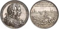 Silbermedaille 1691 Großbritannien William und Mary 1688-1694. Schöne P... 2400,00 EUR kostenloser Versand