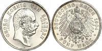 5 Mark 1904  E Sachsen Georg 1902-1904. Prachtexemplar. Minimaler Randf... 320,00 EUR kostenloser Versand