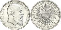 5 Mark 1907 Baden Friedrich I. 1856-1907. ...