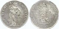 1/4 Gulden 1758 Niederlande-Utrecht, Provinz  Fast Stempelglanz  140,00 EUR  zzgl. 4,00 EUR Versand