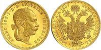 Dukat Gold 1887 Haus Habsburg Franz Joseph I. 1848-1916. Prachtexemplar... 370,00 EUR kostenloser Versand