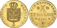 10 Taler Gold 1810  B Westfalen, Königreic...