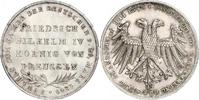 Doppelgulden 1849 Frankfurt-Stadt  Vorzüglich - Stempelglanz  4050,00 EUR kostenloser Versand