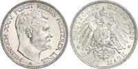 3 Mark 1909  A Reuß, ältere Linie Heinrich XXIV. 1902-1918. Fast Stempe... 690,00 EUR kostenloser Versand
